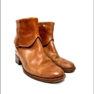 Sassetti Leather Ankle Boots